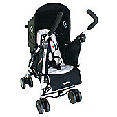 Petite Star Njoy Bubble Reversible Pushchair, Black & Grey