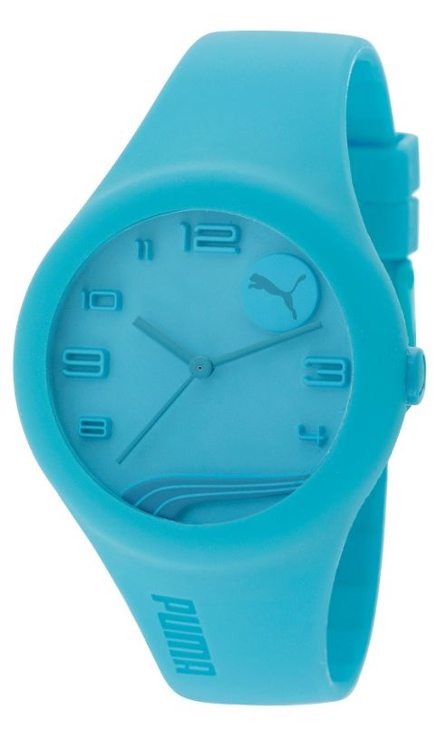 Puma Gents Form Blue Resin Sports Strap Watch PU103001006