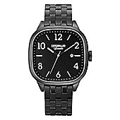 CAT Crawler Mens Black PVD Date Watch CR.161.12.131
