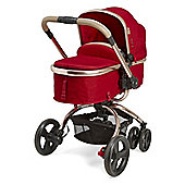 Mothercare Baby Orb Pram and Pushchair - Dark Red Canvas