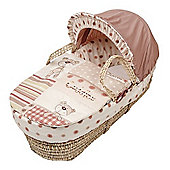 Clair de Lune Little Bear Palm Moses Basket