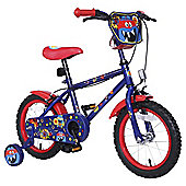 "Monster Hero 14"" Kids' Bike with Stabilisers"