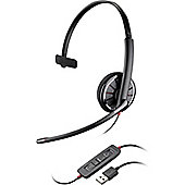 Plantronics Blackwire C310-M Wired Mono Headset - Over-the-head - Semi-open