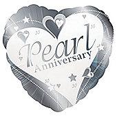Pearl Anniversary 18' Foil Balloon (each)