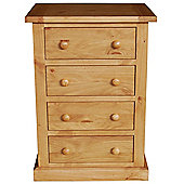 Furniture Link Devon 4 Drawer Chest