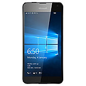 Tesco Mobile Microsoft Lumia 650 Black