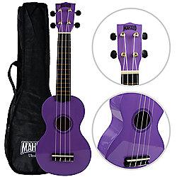 Mahalo 2511 Rainbow Soprano Ukulele - Purple