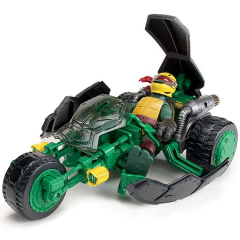 Turtles Ninja Stealth Bike and Exclusive Raphael