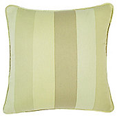 Tesco Cushions Hampton Stripe Cushion, Green