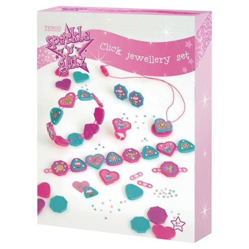 Sparkle & Glitz Click Jewellery Set
