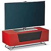 Alphason Chromium Red TV Stand for up to 50 inch TVs