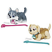 Pet Parade Twin Puppy Pack - Husky And Labrador