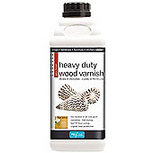 Polyvine Heavy Duty Interior Wood Varnish - Satin - 1 Litre