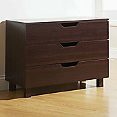 Elements Montana 3 Drawer Chest - Walnut