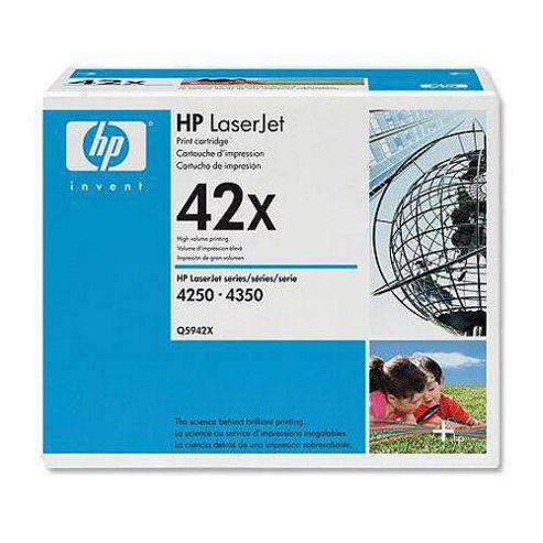 Hewlett-Packard 42X LaserJet Print Cartridge for HP LaserJet 4250/4350 Printer Dual Pack - Black