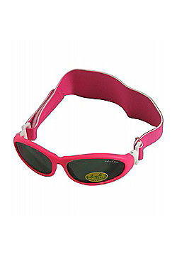 Idol Eyes Baby Wrap Sunglasses (Pink)