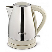 Prestige 53565 Create Stainless Steel 1.7 litre Jug Kettle - Almond