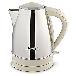 Prestige 53565 Create Stainless Steel 1.7L Jug Kettle - Almond
