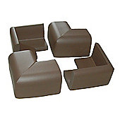 Safetots Foam Corner Guards Brown
