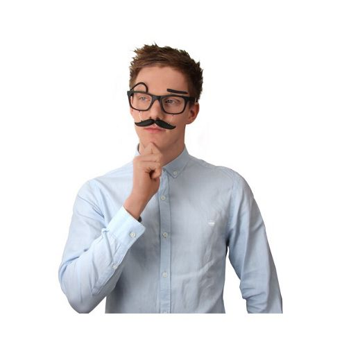 Thumbs Up Moustache Glasses
