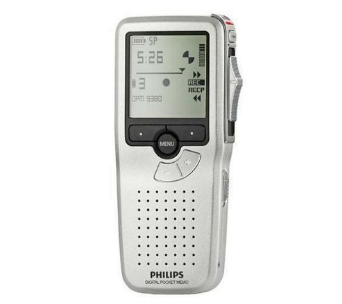 Philips LFH9380 Digital Pocket Memo Silv