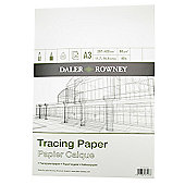 Dr 60Gsm Tracing Paper, A3, 25 Sheets