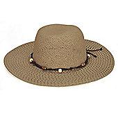 Ladies Sun Hat with Beads