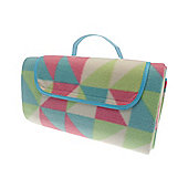 Country Club Picnic & Beach Blanket 130 x 150cm, Shapes