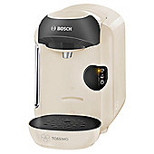 BOSCH Tassimo Vivy TAS1257GB Hot Drinks and Coffee Machine, Cream