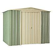 8ft x 6ft Premier EasyFix Mist Green 8x6 Apex Shed (2.33m x 1.75m) 8 x 6