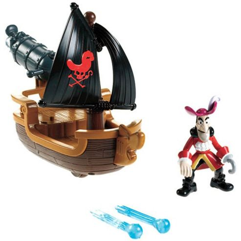 Fisher Price Jake and the Never Land Pirates Hook's Battle Boat