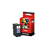 Lexmark No 24A Colour Print Cartridge