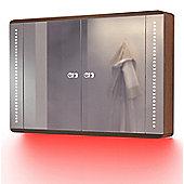 Ambient Solid Oak Bathroom Cabinet With Demister, Sensor & Shaver Socket K83R