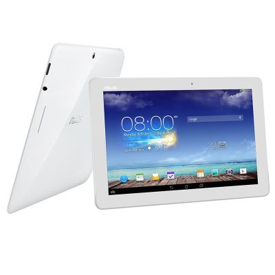 Asus ME102A MeMO Pad 10 (10.1 inch) Tablet PC Quad Core 1.6GHz 1GB 16GB WLAN BT Webcam Android 4.2 (White)