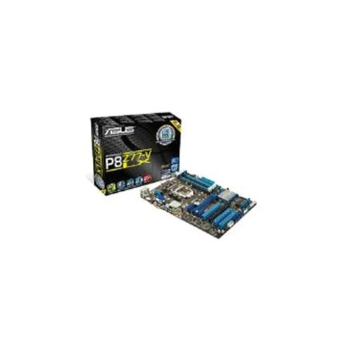 Asus P8Z77-V LX Motherboard Core i7/i5/i3/Pentium/Celeron 1155 Z77 ATX Gigabit LAN (Intergrated Graphics)