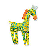 Soft Toy Animal Prints 6 m+ - Yellow Horse