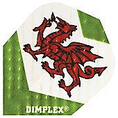 Harrows Dimplex Wales Dragon Dart Flights