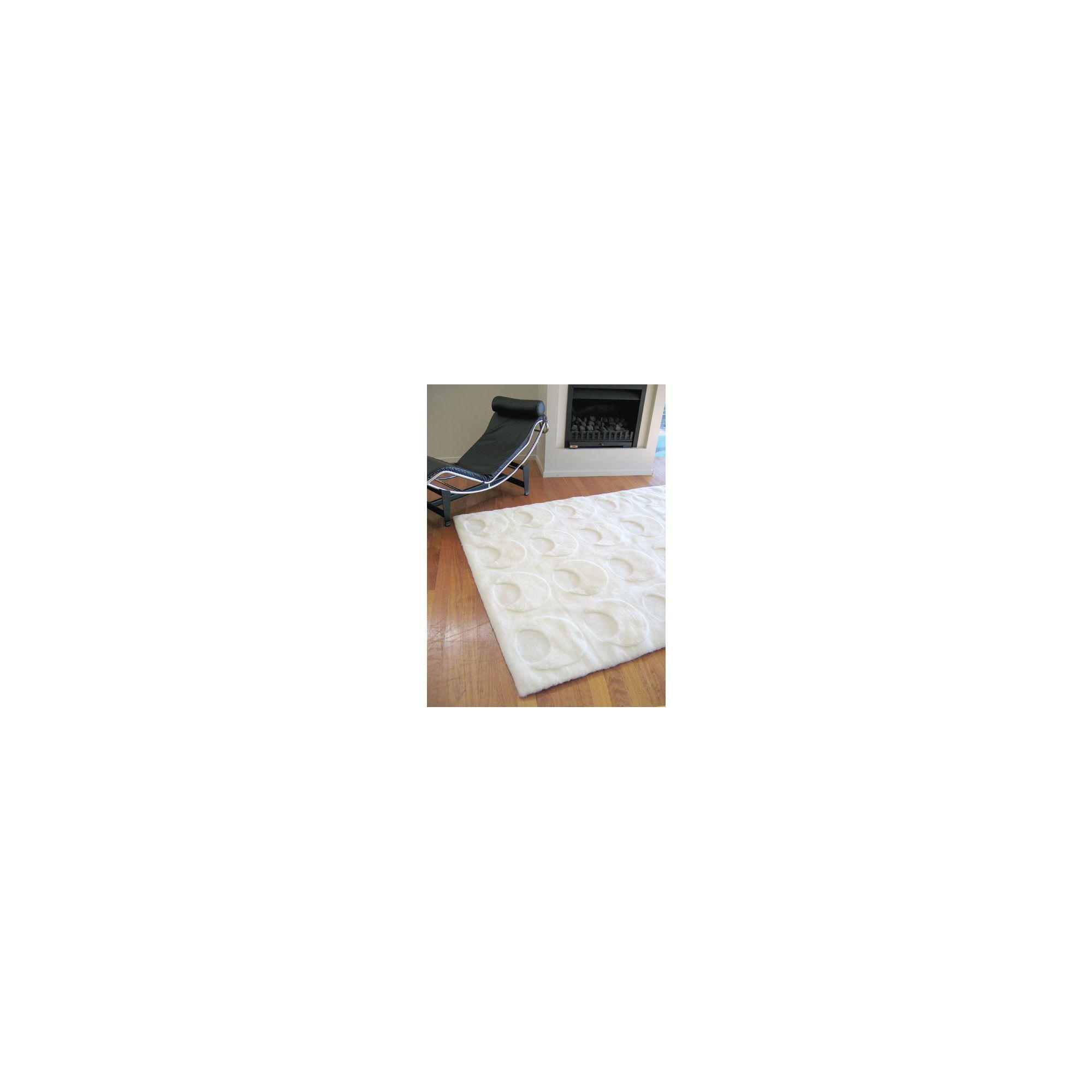 Bowron Sheepskin Shortwool Design Solar Rug - 240cm H x 65cm W x 1cm D at Tesco Direct