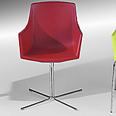 Redi Siza Chair by Plus Design - Black - Chromed