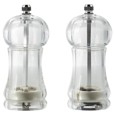 Tesco Acrylic Salt and Pepper Set