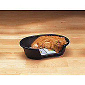 Savic Cosy Air Pet Bed in Black - 38cm