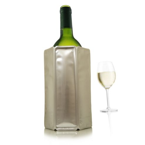 Vacu Vin Rapid Ice Wine Cooler - Silver