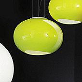 Lucente Noa Pendant - 36cm / Green
