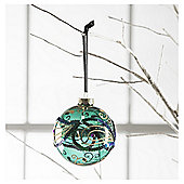 Tesco Glass Feather Hanging Decoration