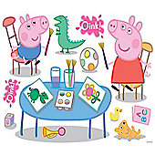 Peppa Pig, 11 Giant Wall Stickers