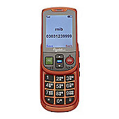 Alto II Talking Mobile Phone - (Orange)
