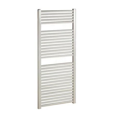 Ultraheat Chelmsford Straight White Ladder Towel Rail 1172mm High x 600mm Wide