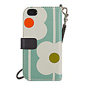 Orla Kiely Abacus Wristlet Case with Wallet for iPhone 5