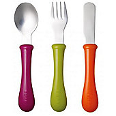 Beaba Stainless Steel Cutlery Set Gipsy