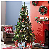 6ft Christmas Tree, Evergreen Fir